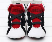 ingrosso calzature per ragazze per bambini-2019Baby Boy Scarpe Sneakers Autunno Solid Unisex Culla Scarpe Infant PU Calzature in pelle Bambino Mocassini Bambina primi camminatori 0-18Mos