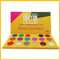 Wholesale makeup eyeshadow glitter box for sale - Group buy 2018 new Popular style makeup Palette BOX OF CRAYONS Cosmetics Eyeshadow Palette Colors iSHADOW Palette Shimmer Matte EYE beauty