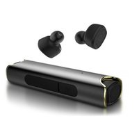 Wholesale dock s2 - S2 TWS Twins Bluetooth Earphones IPX7 Waterproof Mini Double-Ear Headsets Binaural Ear buds With Charging Dock For Universal Phones