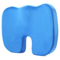 Wholesale cars foam chair for sale - Memory Set Coccyx Orthopedic Pure Memory Foam Seat Cushion U shaped Detachable Cushions Design Durable Home Textiles for Chair Car Office