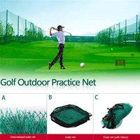 grandes redes venda por atacado-Golf Ao Ar Livre Grande Prática Estimulador Trainer Net Adequado Para Indoor E Outdoor Golf Driving Range Jardim Varanda