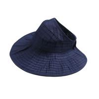 Wholesale tennis hats sun protection for sale - Women Sun UV Protection Hat  Top Open Packable b6dde5c0eb6
