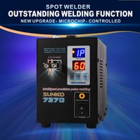 Wholesale welders machine - SUNKKO 737G 1.5kw spot welder machine led light welding machine for 18650 battery pack