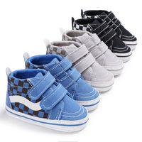 bebek patik tığ çiçek toptan satış-Bebek kanvas ayakkabılar, bebek ayakkabı, ayakkabı ve yumuşak taban ayakkabı ilk yürüteç