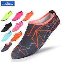 plaj çorapları toptan satış-Su Pembe Çorap Kadın Erkek Çorap Kuru Scuba Çizme Ayakkabı kaymaz Dalış Çorap Su Spor Plaj Çorap Yüzme Sörf Islak Elbise Ayakkabı
