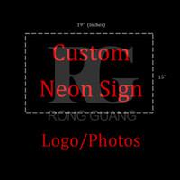batterie légère de corde de néon achat en gros de-Néon Signes Cadeau Custome Signes Bière Bar Pub Magasin Fête Homeroom Decor 19X15