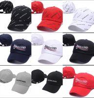 Wholesale 2018 kpop VETEMENTS Big Daddy FW BNIB White Unisex Logo Baseball cap Adjustable dad tactical baseball hat y cap casquette