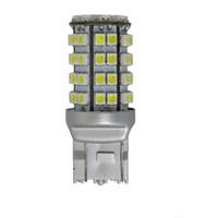 ingrosso h7 led giallo-accessori per auto indicatore di direzione retromarcia bianco ambra 3528 60smd 3157 led lampadina luce di segnalazione