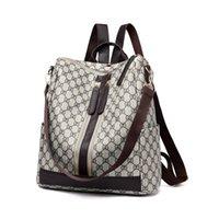 kadınlar için moda sırt çantası deri toptan satış-Genç Kızlar Bayan Okulu Omuz Çantası Bagpack mo için 2018 Moda Tasarımı Kadınlar Sırt Çantası Yüksek Kalite Gençlik Deri Sırt