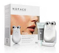 Wholesale lips seals for sale - Group buy Small Package Nuface Trinity Pro Facial Toning Device Kit White top quality Brand New Box Sealed