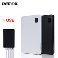 ingrosso caricatore della banca di potenza remax-Remax-Proda Notebook Banca di alimentazione mobile 30000mAh 4 USB Caricabatteria esterno Batteria esterna universale Alimentazione da 30000 mAh