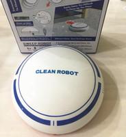 trapeador a control remoto al por mayor-NUEVO mini Robot limpiador automático USB recargable Robot inteligente Limpiador de pisos de vacío Máquina barredora Robótica Limpia ayudante para el hogar libre de DHL