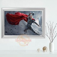 Wholesale Picture Frame Custom - Custom Thor Canvas Frame Aluminum Alloy Painting Fabric Frame Home Decor Canvas Picture YSJ#4