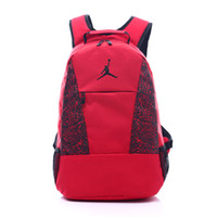 Wholesale school bags online - Students Backpack With Basketball Player Fashion Designer Backpacks For School Bags Stylish Mens Luxury Double Shoulder Bags
