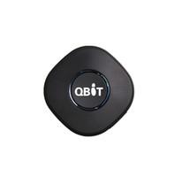 valla gps al por mayor-Mini portátil en tiempo real personal y vehículo GPS Tracker, posicionamiento GPS + LBS, alarma Geo-fence, monitoreo de voz, llamada SOS Speed-dial