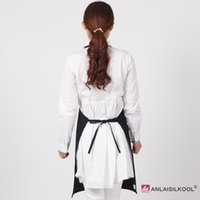Wholesale bbq aprons for sale - Group buy New Design Women Men Apron Restaurant Home Bib Cotton Kitchen Aprons White Avental Adult Work Party Bbq Apron Cooking Cleaning