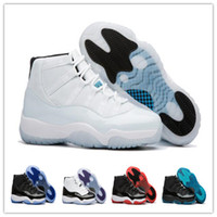 Wholesale Woman Boots 11 - 2017 Retro 11 Space Jam Legend Blue Bred Basketball Shoes Sports Shoes Wholesale Concord Women mens 45 Trainers Athletics Boots Sneakers
