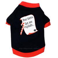 roupas para cachorros venda por atacado-8 pçs / lote Filhote de Cachorro Roupas de Natal Moletom Com Capuz para Cães Traje Do Animal de Estimação Casaco Roupas Menina Menino Chihuahua Yorkie Inverno Frete Grátis