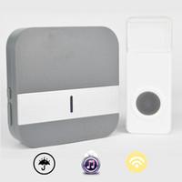 Wholesale door bell buttons resale online - Wifi Doorbell Home Wireless Door Bell Support V Wireless Doorbell m Waterproof Push Button EU US UK plug