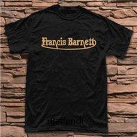 ingrosso comprare vestiti di cotone-Nuovo Acquista Barnett Moto Vintage Classic Badge Logo T-shirt T Shirt Uomo Abbigliamento Spedizione gratuita Manica corta T Shirt in cotone a buon mercato