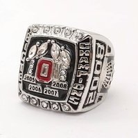 Wholesale nationals band - Factory price Good Quality NCAA 2008 Ohio State National Championship buckeye Ring