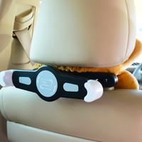 ingrosso staffe per ipad-Supporto per auto Staffa per auto universale Supporto per tablet per auto da 360 gradi Supporto per poggiatesta per iPad 2/3