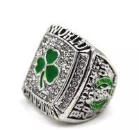 18k platin çin toptan satış-Yeni Erkekler moda takı 2008 Celtics şampiyonası yüzük alaşım spor hayranları koleksiyonu hediyelik eşya Noel hediyesi