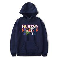 Wholesale Large Size Tracksuits - LUCKYFRIDAYF Hunter x Hunter Hoodies Men Sweatshirt Tracksuit Hoodie Print Fashion Casual Sweatshirt XXS-4XL Large size clothes