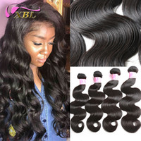 Wholesale cuticle hair online - xblhair cuticle aligned unprocessed hair virgin brazilian human hair extensions within different remy human hair bundles