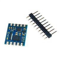 Wholesale gyroscope axis - 1pcs GY-BNO055 9DOF 9-axis GY-955 Absolute Orientation IMU AHRS Breakout Sensor Accelerometer Gyroscope Triaxial Geomagnetic