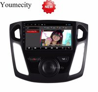 Wholesale ford car dvd player radio online - Octa Core Android Car Dvd Gps Player For Ford Focus Car Radio Video Stereo Audio Navigation