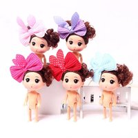 Wholesale princess china dolls resale online - Mini Nake Cupcake Scented Princess Doll Reversible Cake Baking with Flavors Magic Toys Desserts for Girls bubble bath Fashion Dolls Ornament