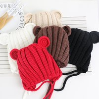 06f0762cc5b Wholesale crochet baby hats sale for sale - Unisex New Arrival Baby Hat  with Ears Girls