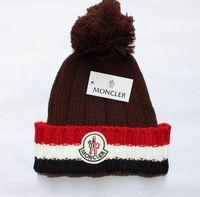 Cappello lavorato a maglia da donna Moda Autunno Inverno Uomo Cappello caldo  cotone Skullies Marca Palla capelli pesanti Twist berretti Cappelli di lana  ... 28e1f1fedcf7