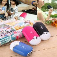 Wholesale Mini portable hand held desk air conditioner humidification air cooler cooling fan for home office with higt quality