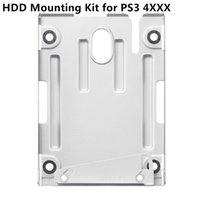 Wholesale Hdd Mounts - Free shipping Hard Disk Drive HDD Mounting Bracket Stand Mount kit for Playstation 3 PS3 4000 available instock
