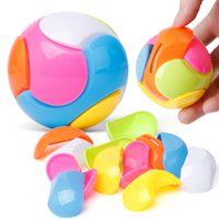 Wholesale banks education - Assembling Series Colour Football Shape Storage Tank Children Intelligence DIY Learning Education Toys Gift Piggy Bank 0 85yy W