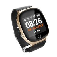 ingrosso guardare gsm sos-Smart Watch LBS GSM SOS Locater GPS Tracker Dispositivo di tracciamento in tempo reale per i genitori