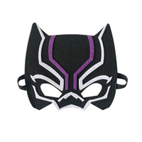 Wholesale kids superhero party masks resale online - 210 Styles Kids Superhero Cosplay Masks Cartoon Character Felt Child Masks Halloween Christmas Holiday Party Favor Superhero Masks