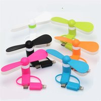 Wholesale mini fans for pc for sale - Group buy Multifunction Mobile Fan Mini In Cool Micro USB Gadget Fans Summer Portable Flexible Toy For PC Smartphones sh YY