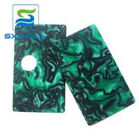 ingrosso scatola in acrilico-Spedizione gratuita Top Vape Factory SXK Nuovi pannelli / porte acrilici glassati per b box mod