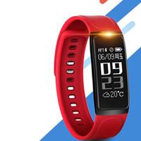 горячие подарки на день рождения для мужчин оптовых- Silicone Led Red Sport Smart Bracelet Watches Men Women Outdoor Intelligent Watch Birthday Gift Hot Fashion Wristwatch