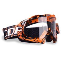 kros kasası kaskı toptan satış-Gözlük Motokros Gözlük ATV Için Cross Country Kayak Snowboard Maske Oculos Gafas Motosiklet Kask MX Gözlük