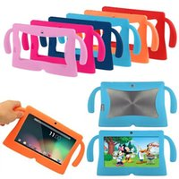 """Wholesale Kids Tablet Computers - Multicolor Computer Accessories Silicone Cute Soft Cover Case for 7"""" Inch Android Gilrs Boys Kids Pad Tablet PC"""