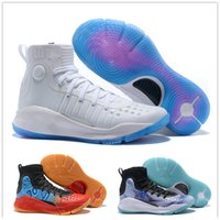 Wholesale Young Leather Men - 2018 Kid Young 4 All Star Kid's Women Men Basketball Shoes High quality 4s IV Black White Gold Boy Children Athletics Sports Sneakers 36-46