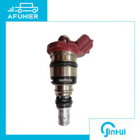 Wholesale toyota fuel nozzles resale online - 12 month quality guarantee fuel injector nozzle for mazda toyota mitsubishi OE No