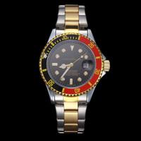 faire des horloges achat en gros de-GOO 2019 luxe célèbre mens montres designer de mode automatique jour fait gagnant Bracelet en cuir Quartz style maître femmes horloge gmt relogio