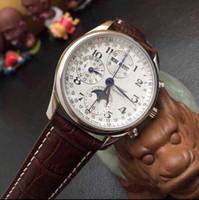 se watch оптовых-Новый M@ster C0llection Moonph@se мужские часы L2.673.4.51.6 автоматические мужские часы