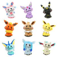 Wholesale new umbreon plush for sale - Group buy Hot New Styles quot quot CM CM Sylveon Eevee Umbreon Flareon Vaporeon Jolteon Espeon Leafeon Glaceon Cosplay Mimikyu Plush Doll Soft Toys