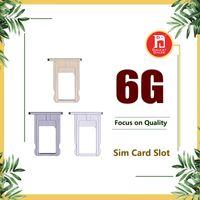 adapter für sim-karte großhandel-Nano-SIM-Kartensteckplatz Halter Ersatzteil Adapter Kit Fix für iPhone 6 Teile für iPhone 6 6g i6 Grau Gold Silber